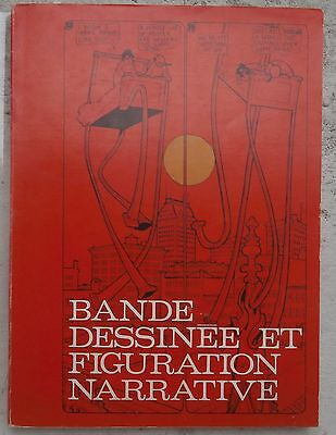 Bande dessinée et figuration narrative Très rare catalogue 1967 256p.