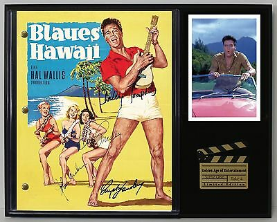 Blue Hawaii Elvis Presley Autograph Reprint Movie Script Display USA Ships Free