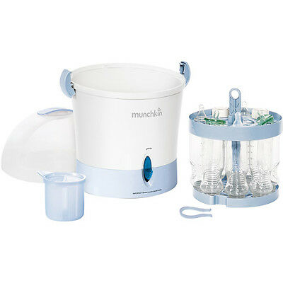 Munchkin - Steam Guard Electric Sterilizer - for baby bottles and accessories