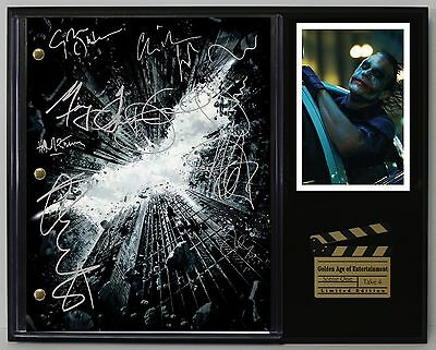 The Dark Knight - Reprinted Autograph Hollywood Script Display Free Shipping USA