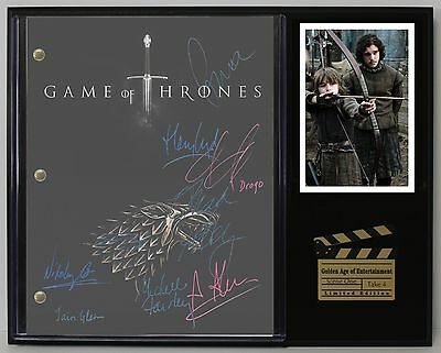 Game of Thrones - Reprinted Autograph Hollywood Script Display - USA Ships Free
