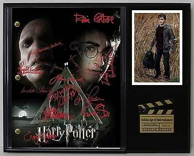 Harry Potter - Autographed Reprint Hollywood Script Display USA Ships Free