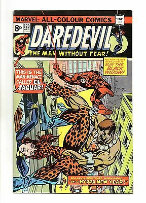 Daredevil Vol 1 No 120 Apr 1975 (VFN+) Marvel Comics, Bronze Age (1970 - 1979)