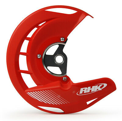 Honda CRF250 R 2004 - 2017 RHK Front Disc Guard Red