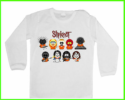 BABY/KID/TODDLER T-Shirt/Blusen, SLIPKNOT FUN HEAVY METAL Jungen/Mädchen LANGARM