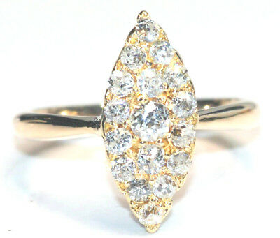 ANTIQUE 18ct Yellow Gold Victorian Diamond Ring      -     Subiaco Antiques