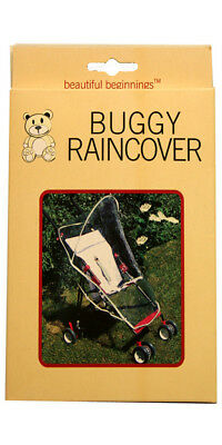 Beautiful Beginnings Universal Buggy Pushchair Stroller Raincover