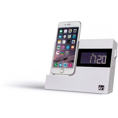 XDock3 Lightning Connector Clock Radio Dock for iPhone 6 / 6s / 7 / Touch 5