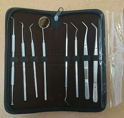 NJ Dental Tartar Calculus Plaque Remover Tooth Scraper Scaler Instruments ISO CE