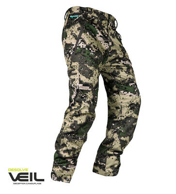 Hunters Element Sabre Hunting Trousers Veil Camo Windproof Waterproof