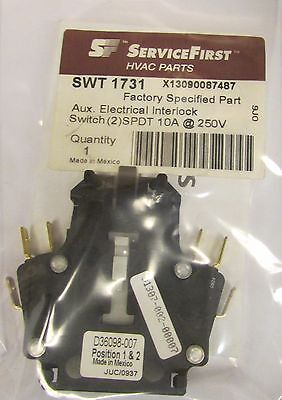 SIEMENS FURNAS 49 D36098 007 SERVICE FIRST SWT 1731 SPDT 10A Auxiliary Contact
