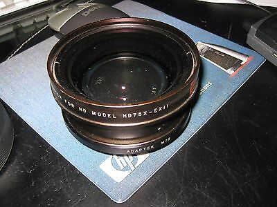 16X9 Inc.EXII 0.75X Wide Converter for HD Model HD75X-EXII w/M72 Adapter in case