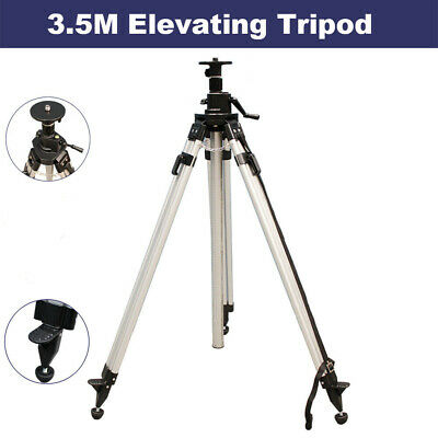 3.2M Elevating Tripod for Rotary Laser Level Dumpy Level Cross Line Laser level