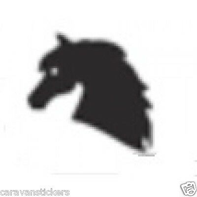 Horsebox Trailer Sticker Decal Graphic STYLE 4 - SINGLE