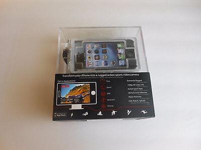 Optrix Rugged For I-Phone 4 4S 1080p Action Sports Video Transform your I Phone