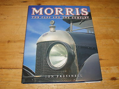 Sale Book - Morris-The Cars & the Company by Jon Pressnell. Was £40.00
