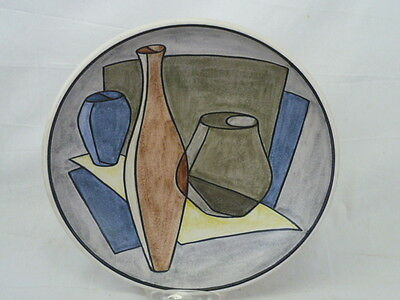 Th Soholm Denmark Mid Century Modern Still Life Bowl Wall Hanging Decor