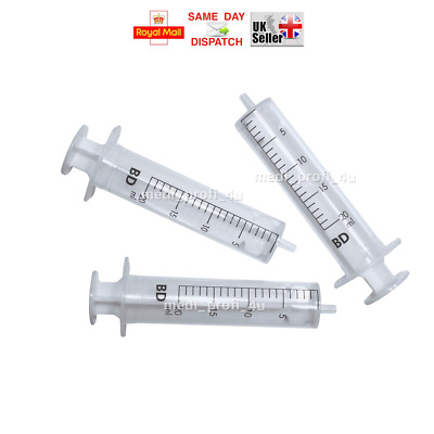 CHOICE OF QTY -> 20ml BD Sterile Syringes Refill Ink Dispensing FAST CHECK PRICE