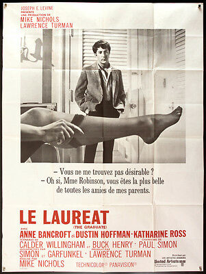 THE GRADUATE 1968 French style A 1p Dustin Hoffman Mike Nichols filmartgallery