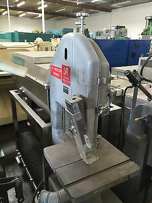 "Yates American Model 14, 14"" X 14"" Table Vertical Band Saw"
