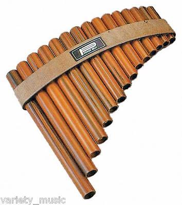 PAN FLUTE 15 Note Modern version of an ancient traditional instrument. Pipes
