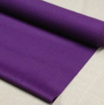 ENGLISH Hainsworth Pool Snooker Billiard Table Cloth Felt 7ft PURPLE