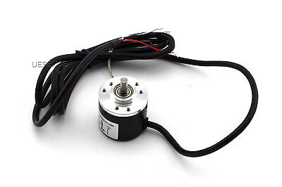 Incremental Rotary Encoder 600P/R AB 2 phase 6mm Shaft 5-24V DC