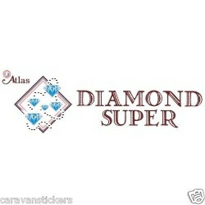 ATLAS Diamond Super Static Caravan Side Sticker Decal Graphic - SINGLE