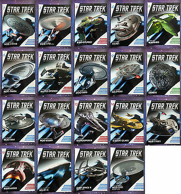 Star Trek Eaglemoss Magazines Only Issues 1 - 64 & Specials Collection Lot