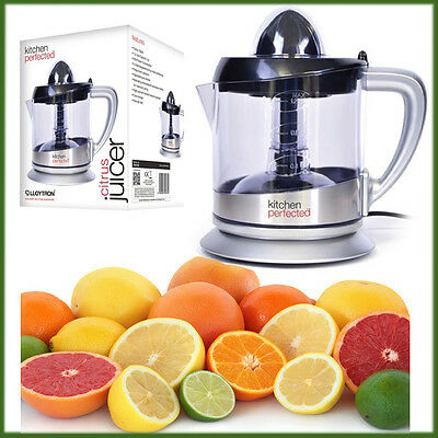LLOYTRON 1.2L Perfect Citrus Fruit Juicer Easy 40W Electric Juice Extractor New