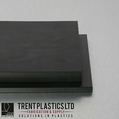 HDPE Sheet Black - High Density Polyethylene PEHD Thermoplastic Polythene mm