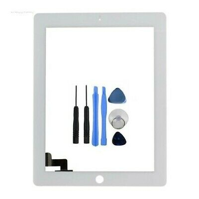 New Replacement Digitizer Touch Screen Glass Display for iPad 4 White 4G 4th Gen