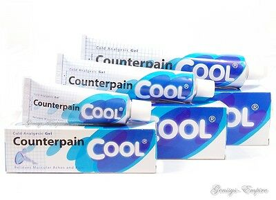 Counterpain Cool Analgesic Warm Balm Heat Relieves Muscular Aches &pain