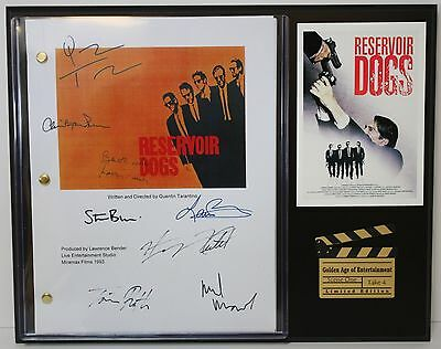 Reservoir Dogs - Autograph Reprint Hollywood Script Display - USA Ships Free
