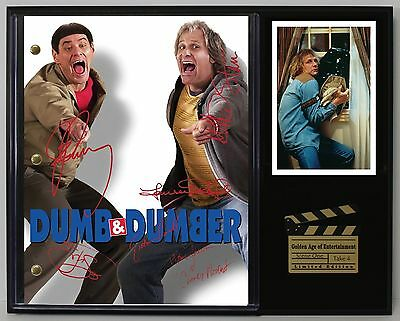 Dumb and Dumber - Reprinted Autograph Movie Script Display - USA Ships Free