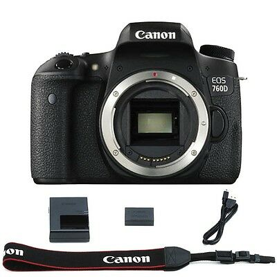 Canon EOS Rebel T6S / 760D DSLR Camera (Body Only) Black - Summer Time Sale