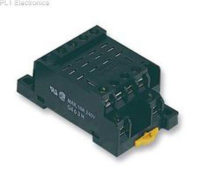 Omron Industrial Automation - Ptf14Ae - Socket, Din/surface, 4 Pole, Relay