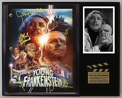 Young Frankenstein - Reprinted Autograph Movie Script Display - USA Ships Free