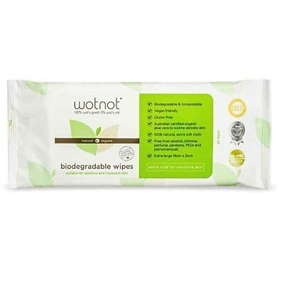 Wotnot Travel Wipes - 20 wipes - Refill pack | BRAND NEW