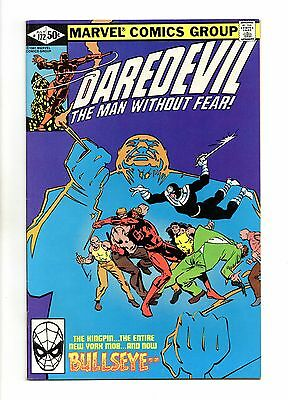 Daredevil Vol 1 No 172 Jul 1981 (VFN+) Marvel, Cents Copy, Modern Age