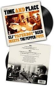"""Time And Place EP - PEPPER POTS THE/REED ELI """"PAPERBOY"""" [LP]"""