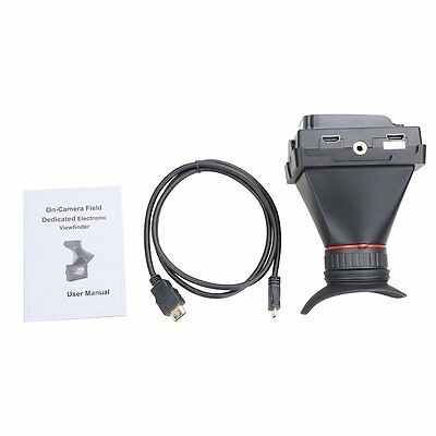 """Feelworld E-350 3.5"""" EVF Electronic LCD Viewfinder 800x480 HDMI Camera Monitor"""