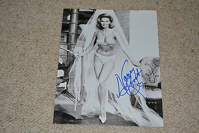 NANCY KOVACK signed Autogramm 20x25 In Person STAR TREK  Jason & Die Argonauten