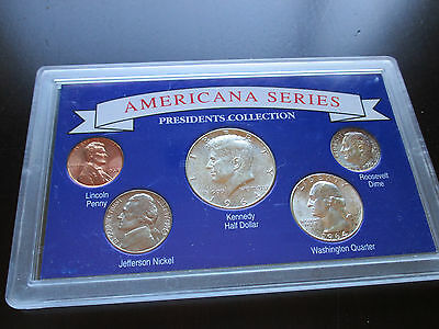 US COIN LOT, Americana Series Presidents Collection (Y73)