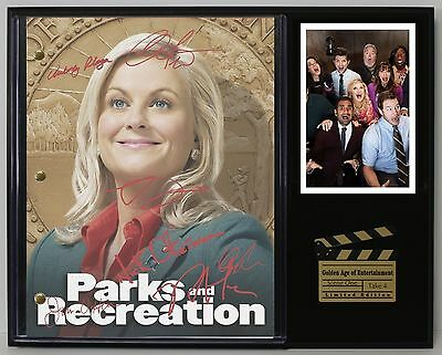 Parks and Recreation - Reprinted Autograph TV Script Display - USA Ships Free