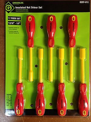 Greenlee 0257-01I Insulated Nut Driver Set