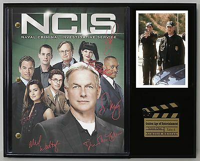 NCIS - Reprinted Autograph Television Script Display - USA Ships Free