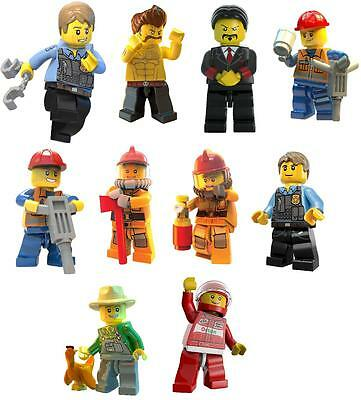 10 lego city undercover   VINYL WALL STICKERS 3 SIZES A6 A5 A4