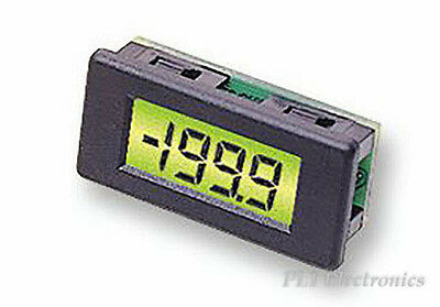 Lascar   Dpm 1As-Bl   Voltmeter, Lcd, 3.5Digit, 30Mm