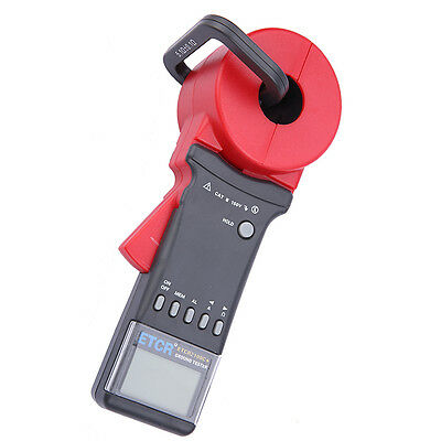 ETCR2100A+ Digital Clamp On Ground Earth Resistance Tester Meter 0.01-200Ω NEW Y